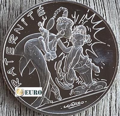 10 euros France 2015 - Asterix fraternité et Latraviata