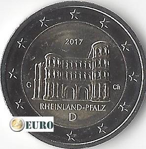 2 euros Allemagne 2017 - G Rheinland-Pfalz UNC