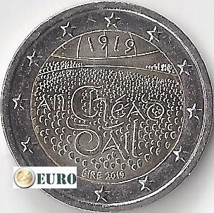 2 euro Ierland 2019 - Dáil Éireann UNC