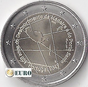 2 euros Portugal 2019 - Madére UNC