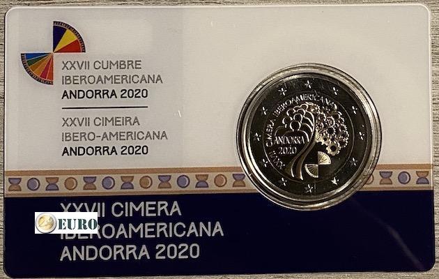 2 euro Andorra 2020 - Ibero-Amerikaanse top BE Proof