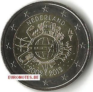 Nederland 2012 - 2 euro 10 jaar euro UNC