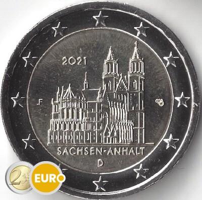2 euro Duitsland 2021 - F Sachsen-Anhalt UNC