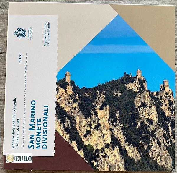 Euro set BU FDC San Marino 2020