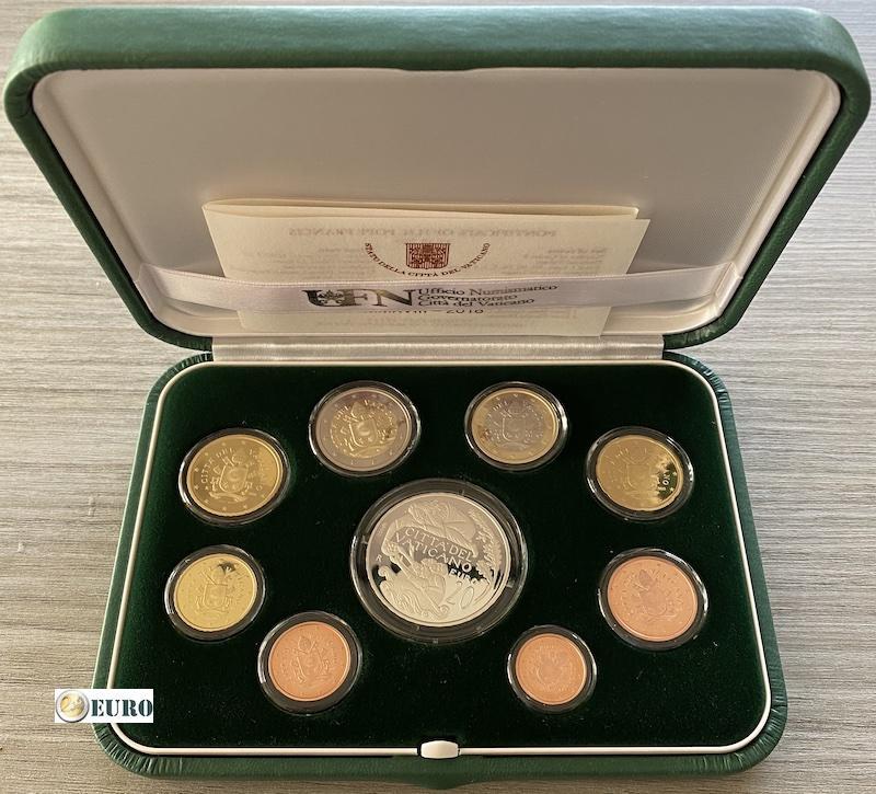 Série euro BE Proof Vatican 2018 + 20 euros argent