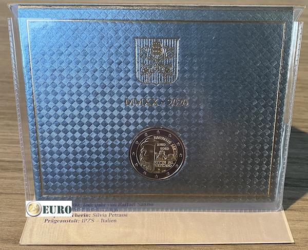 2 euros Vatican 2020 - Raffaello BU FDC