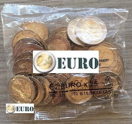 Rouleau sachet 2 euros Irlande 2019 - Dáil Éireann