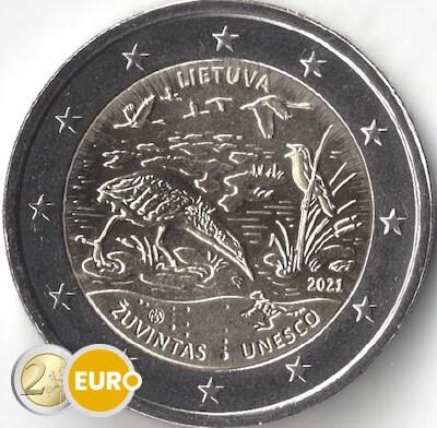 2 euro Litouwen 2021 - Biosfeerreservaat Zuvintas UNC