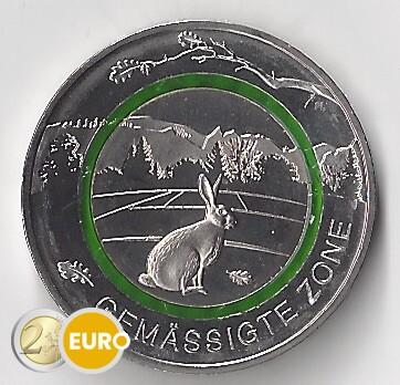 5 euro Duitsland 2019 - Gematigde zone UNC