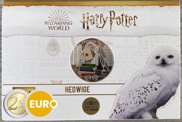 50 euros France 2021 - Harry Potter Hedwige BE Proof Argent colorisé